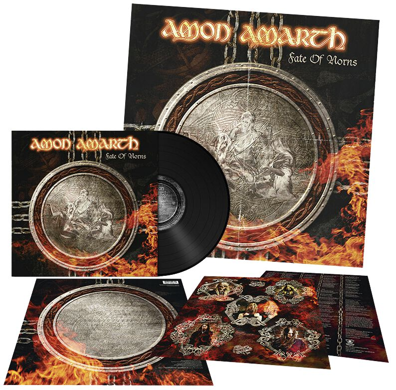 Image of   Amon Amarth Fate Of Norns LP standard