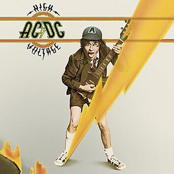 Image of   AC/DC High voltage LP standard