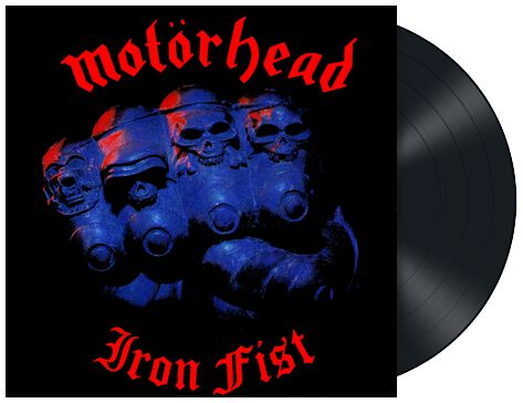 Image of   Motörhead Iron Fist LP standard