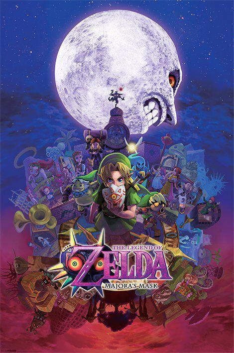 Image of   The Legend Of Zelda Majora's Mask Plakat Standard