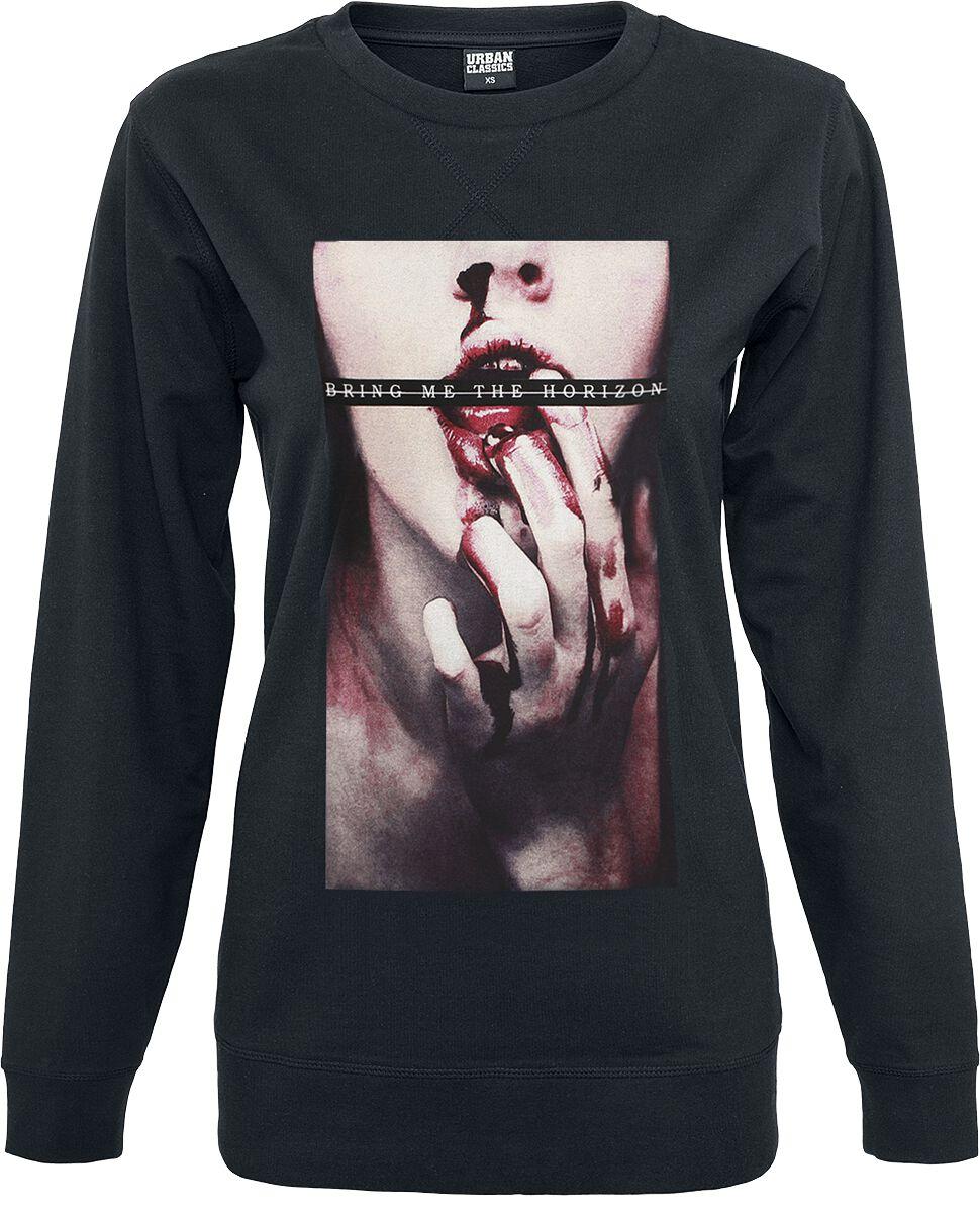 Image of   Bring Me The Horizon Bloodlust Girlie sweatshirt sort