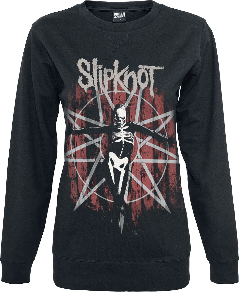 Image of   Slipknot The Gray Chapter Girlie sweatshirt sort