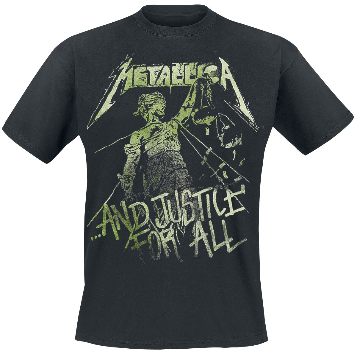Image of   Metallica ... And Justice For All - Vintage T-Shirt sort