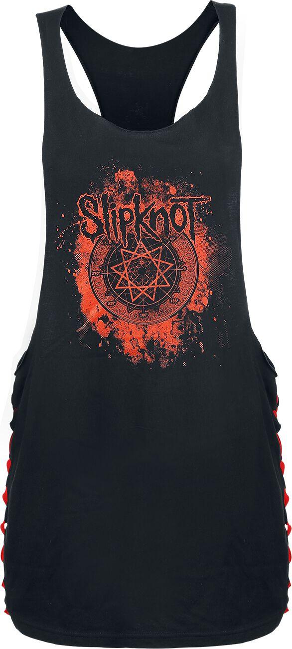 Slipknot Smoke Star Girl-Top schwarz