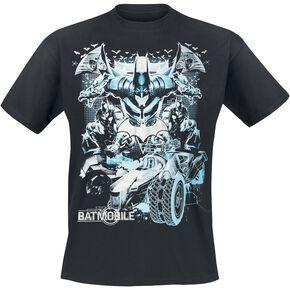 Batman Arkham Knight - Batmobile T-shirt noir