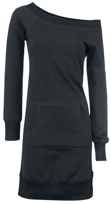 Image of   Forplay Long Wideneck Sweater Kjole sort