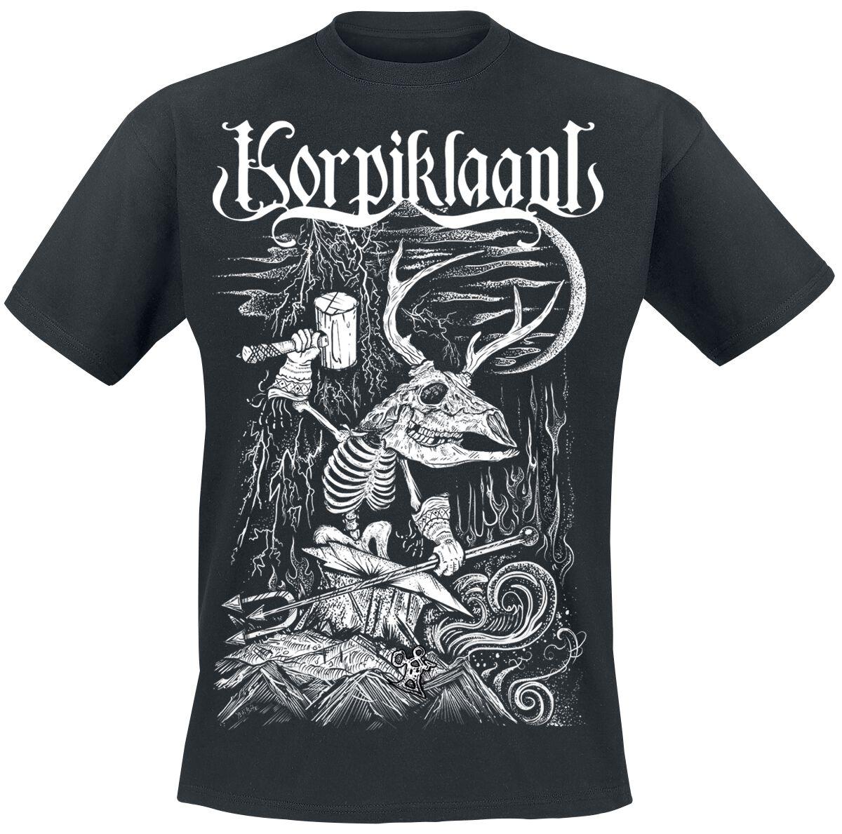 Zespoły - Koszulki - T-Shirt Korpiklaani Blacksmith T-Shirt czarny - 313085