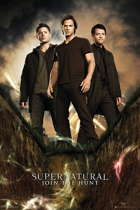Image of   Supernatural Join The Hunt Plakat multifarvet