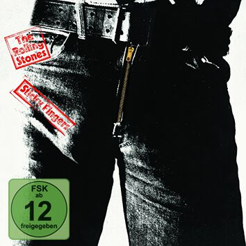 Image of The Rolling Stones Sticky fingers 3-CD & DVD & 7 inch Standard