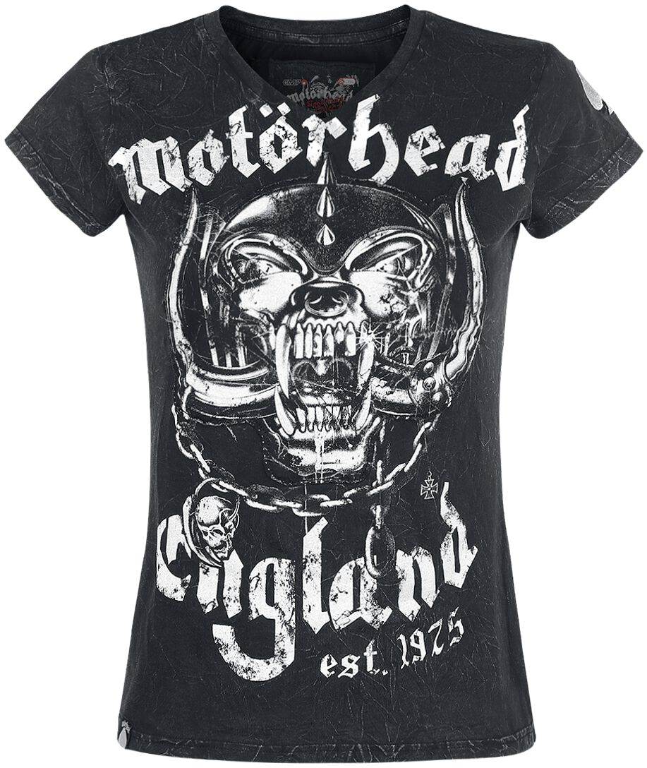 Image of   Motörhead EMP Signature Collection Girlie trøje sort