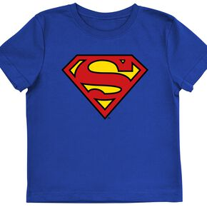 Superman Logo T-shirt Enfant bleu