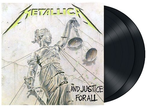 Image of   Metallica ... and justice for all 2-LP standard