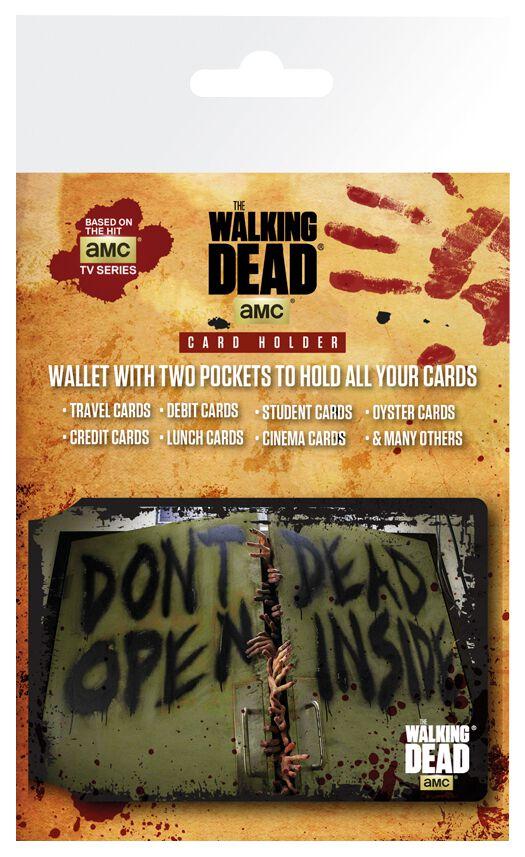 The Walking Dead Don´t Open Card Holder Standard