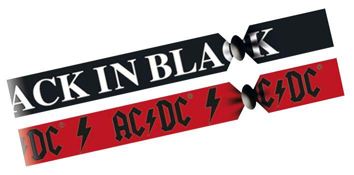 Image of   AC/DC Festivalbänder Armbånd Standard