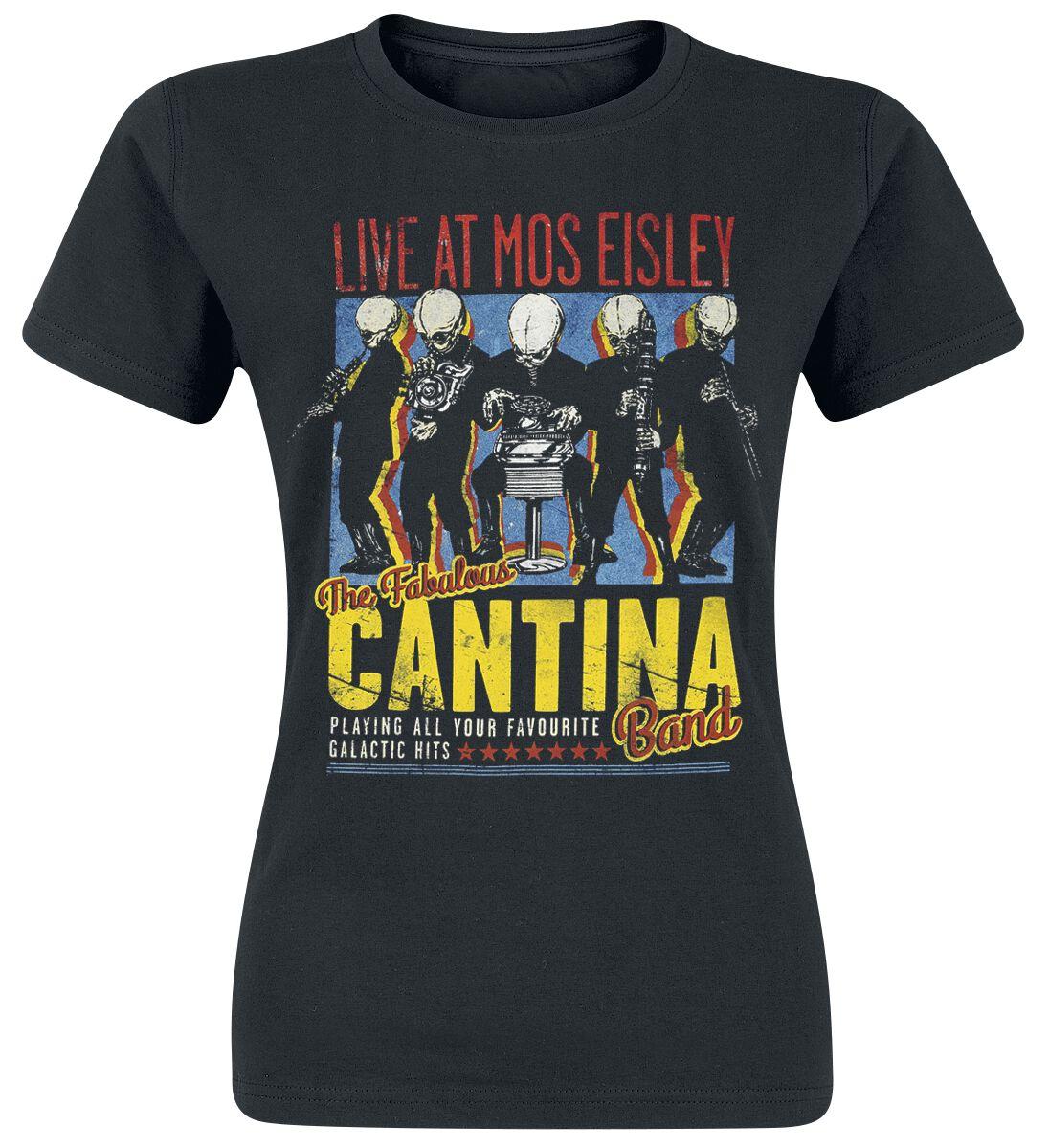 Image of   Star Wars Cantina Band On Tour Girlie trøje sort