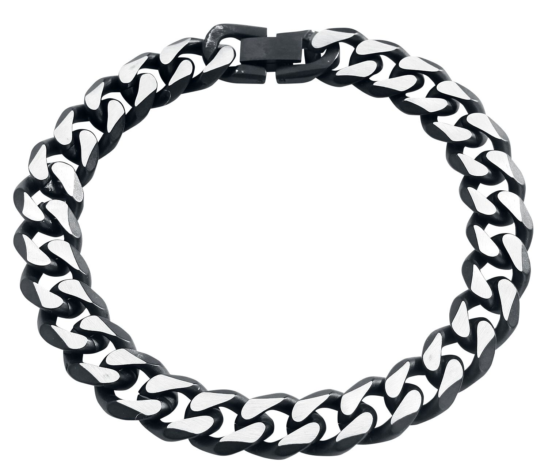 Motyw - Bransoletki - Bransoletka Black 'N' Silver Bracelet Bransoletka standard - 315414