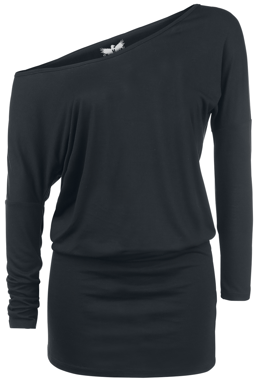 Black Premium by EMP Ladies Tee Dress Sukienka czarny