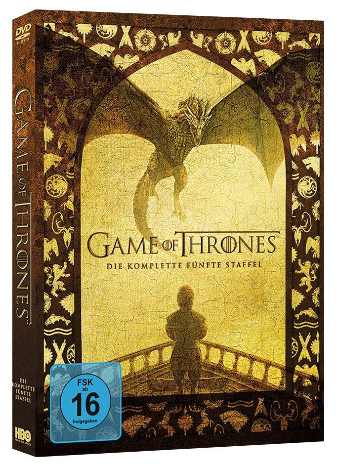 Image of Game Of Thrones Die komplette 5. Staffel 5-DVD Standard