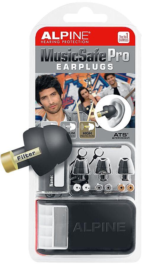Alpine MusicSafe Pro Ohrstöpsel schwarz