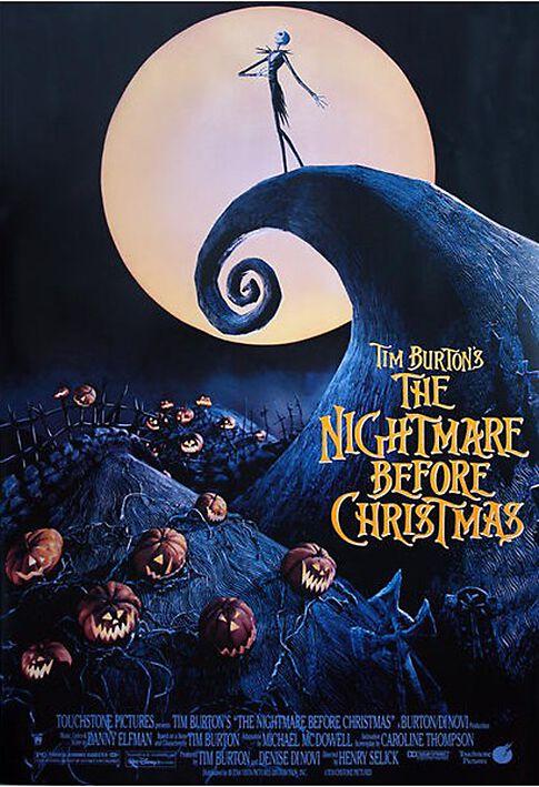 Image of   The Nightmare Before Christmas The Nightmare Before Christmas Plakat multifarvet