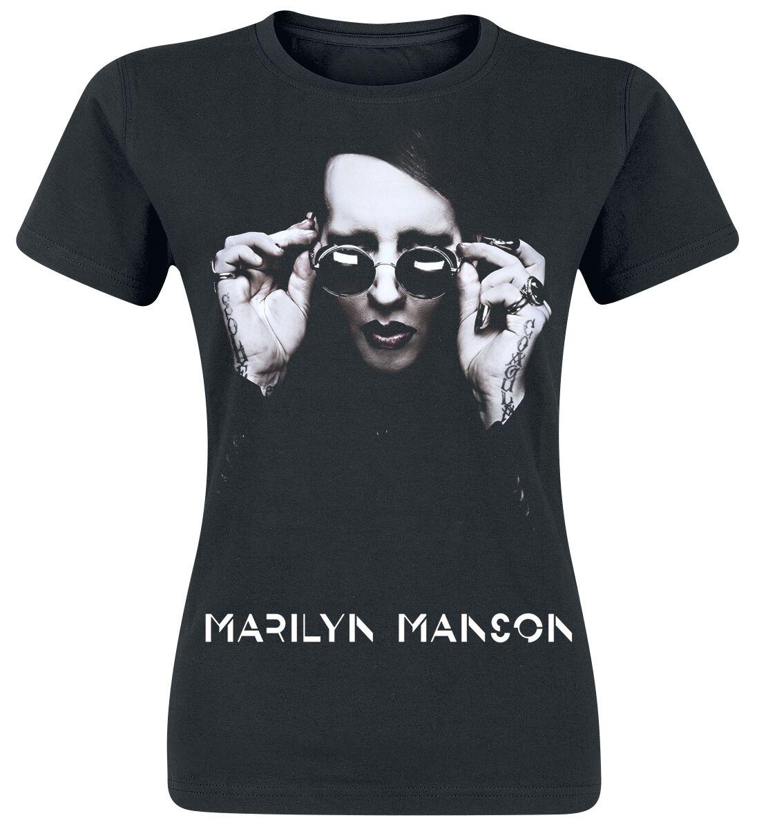 Zespoły - Koszulki - Koszulka damska Marilyn Manson Specks Koszulka damska czarny - 315916