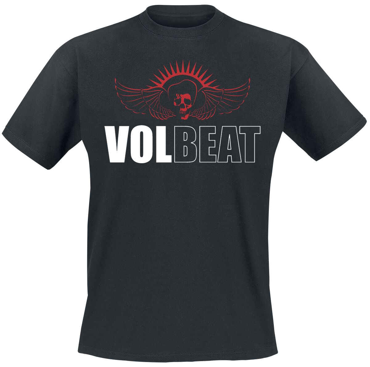 Image of   Volbeat Classic Logo T-Shirt sort