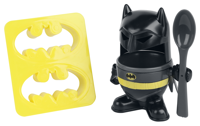Batman - Egg Cup & Toast Stamp - Breakfast Set - Standard