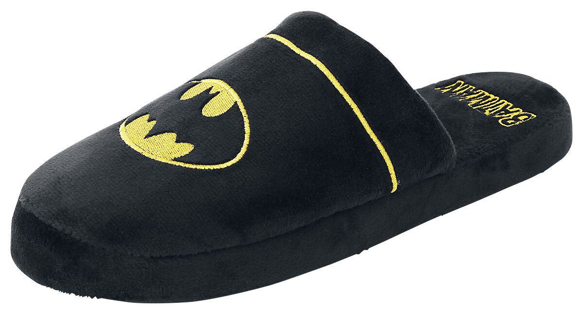 Image of   Batman Logo Hjemmesko sort