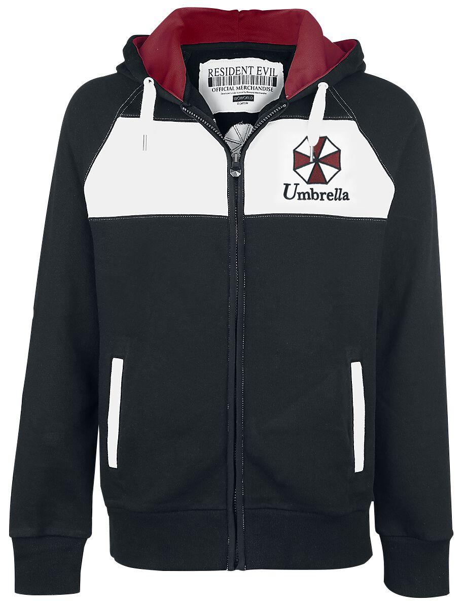 Merch dla Fanów - Kurtki - Bluza dresowa Resident Evil Umbrella Corporation Bluza dresowa wielokolorowy - 316852