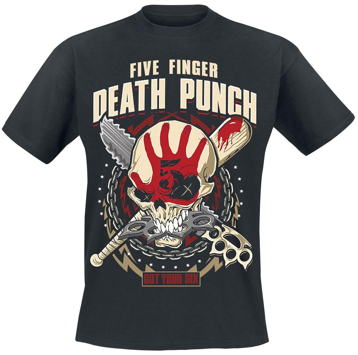 Image of   Five Finger Death Punch Zombie Killer T-Shirt sort