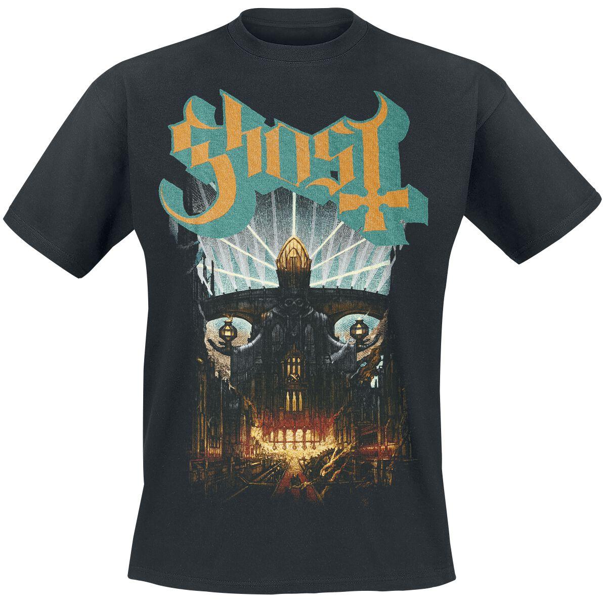 Zespoły - Koszulki - T-Shirt Ghost Meliora T-Shirt czarny - 317386