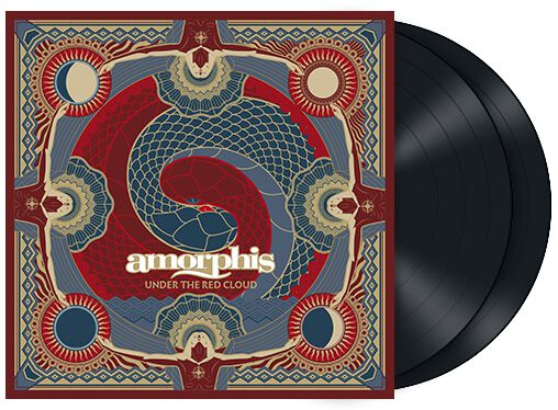 Image of Amorphis Under The Red Cloud 2-LP Standard