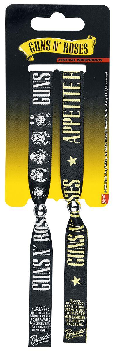 Image of   Guns N' Roses Festivalarmbånd Armbånd Standard
