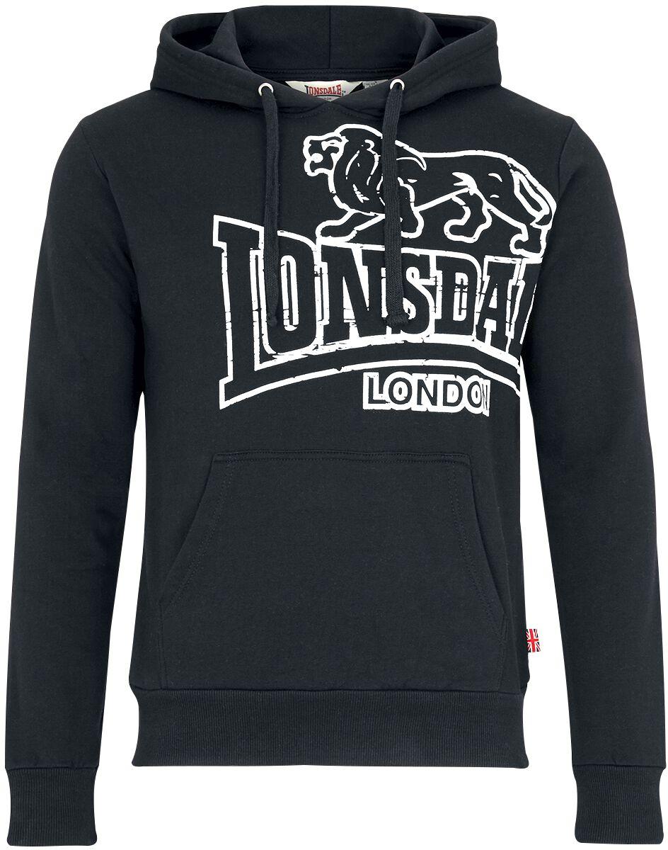 Marki - Bluzy z kapturem - Bluza z kapturem Lonsdale London Tadley Bluza z kapturem czarny - 318019