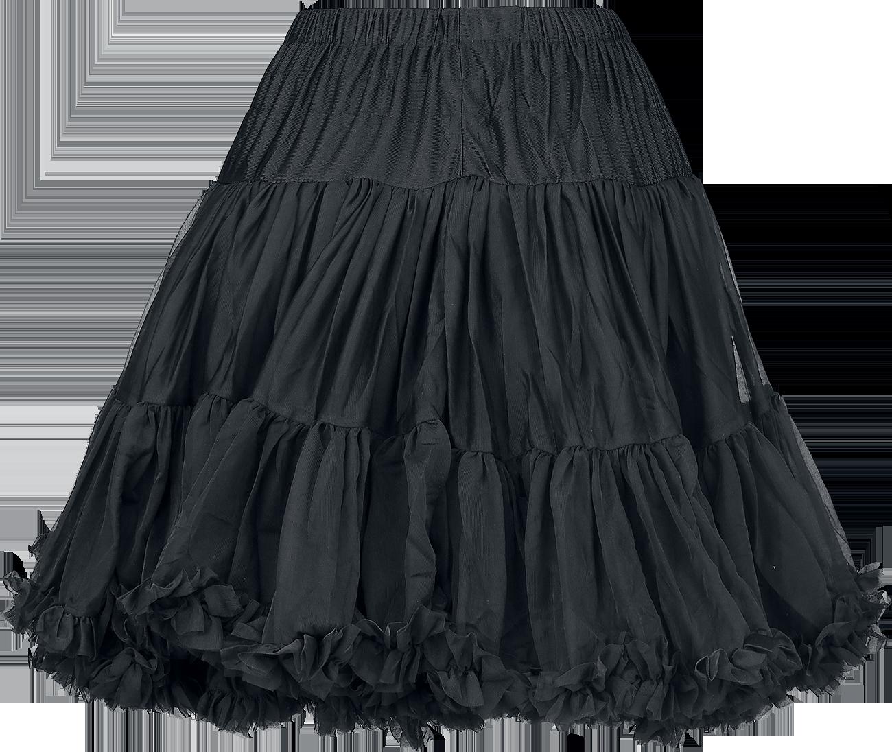 banned walkabout petticoat rock schwarz ebay. Black Bedroom Furniture Sets. Home Design Ideas
