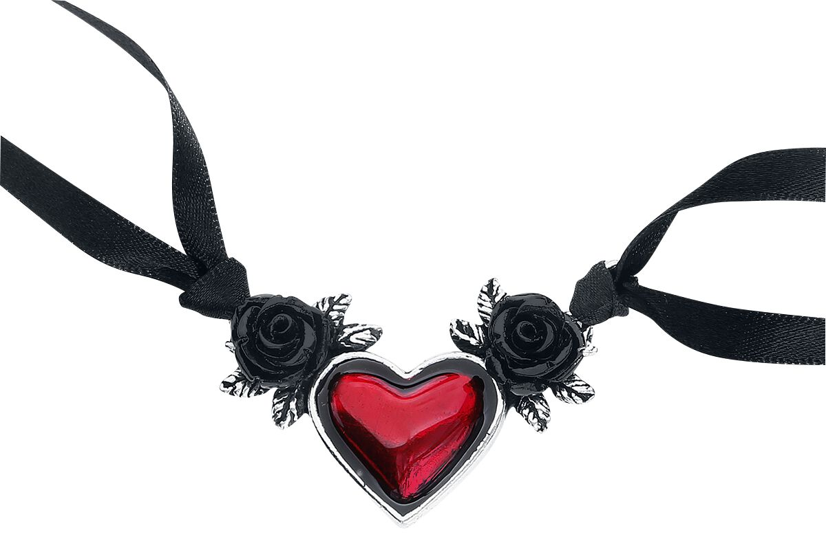 Image of   Alchemy Gothic Blood Heart Halsbånd Standard
