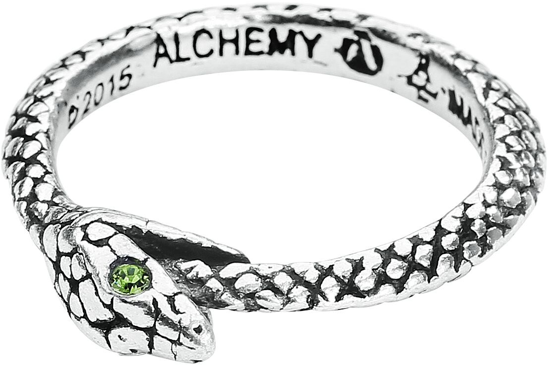 Image of   Alchemy Gothic The Sophia Serpent Ring Standard