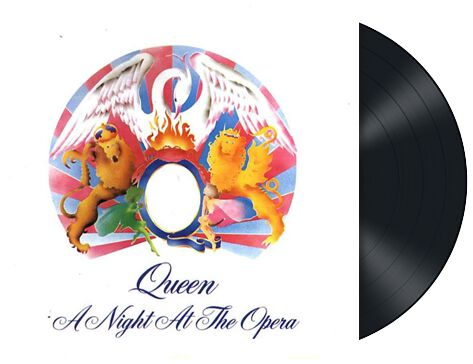 Image of   Queen A night at the opera LP standard