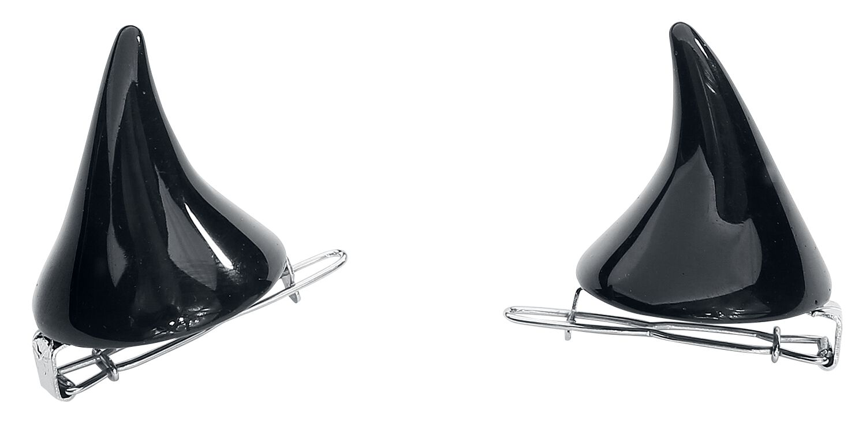 Basics - Ozdoby do włosów - Szpilka do włosów Black Devil Horns Szpilka do włosów standard - 318714