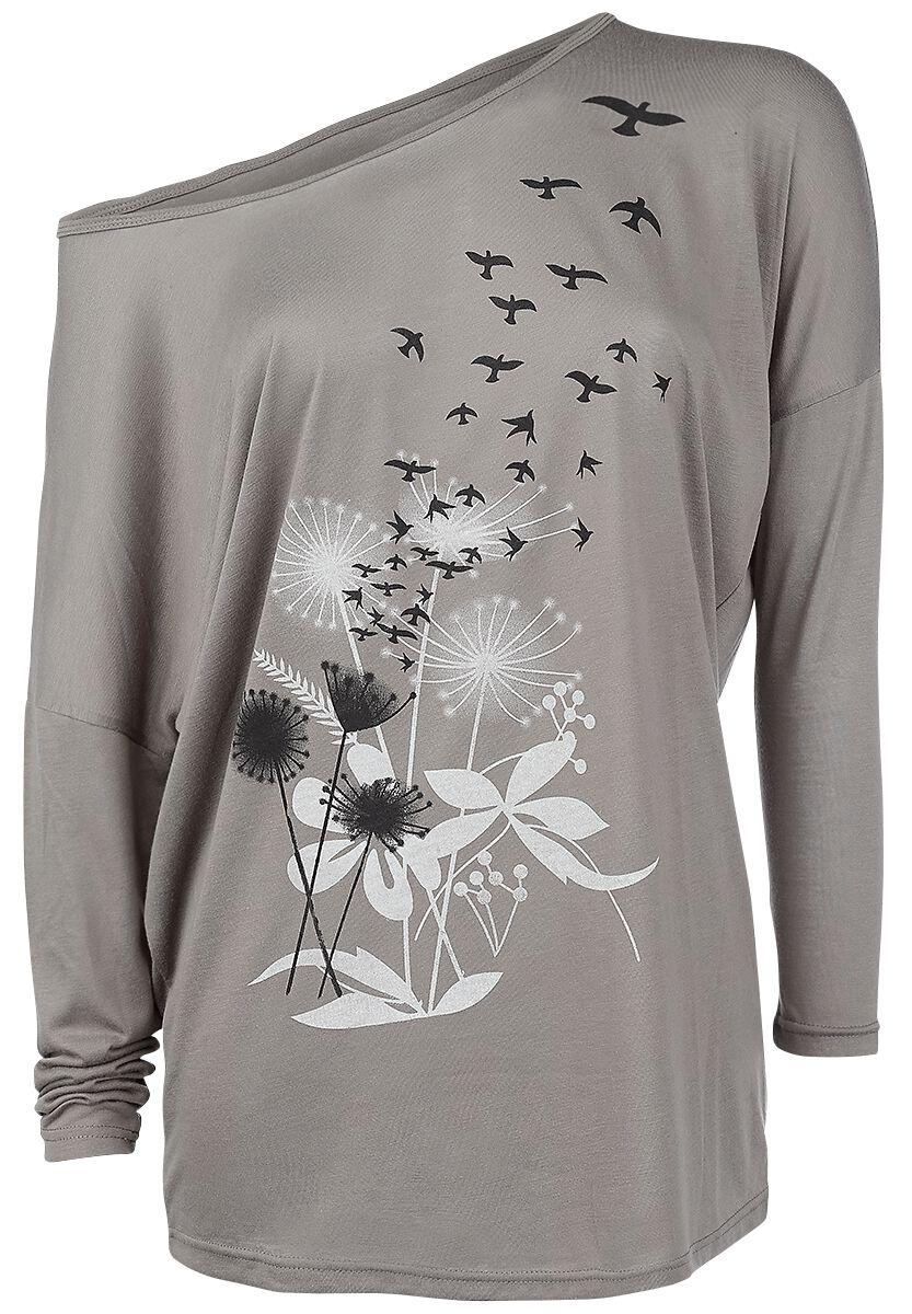 Marki - Longsleeve - Longsleeve damski Innocent Flock Longsleeve damski brązowy - 318759