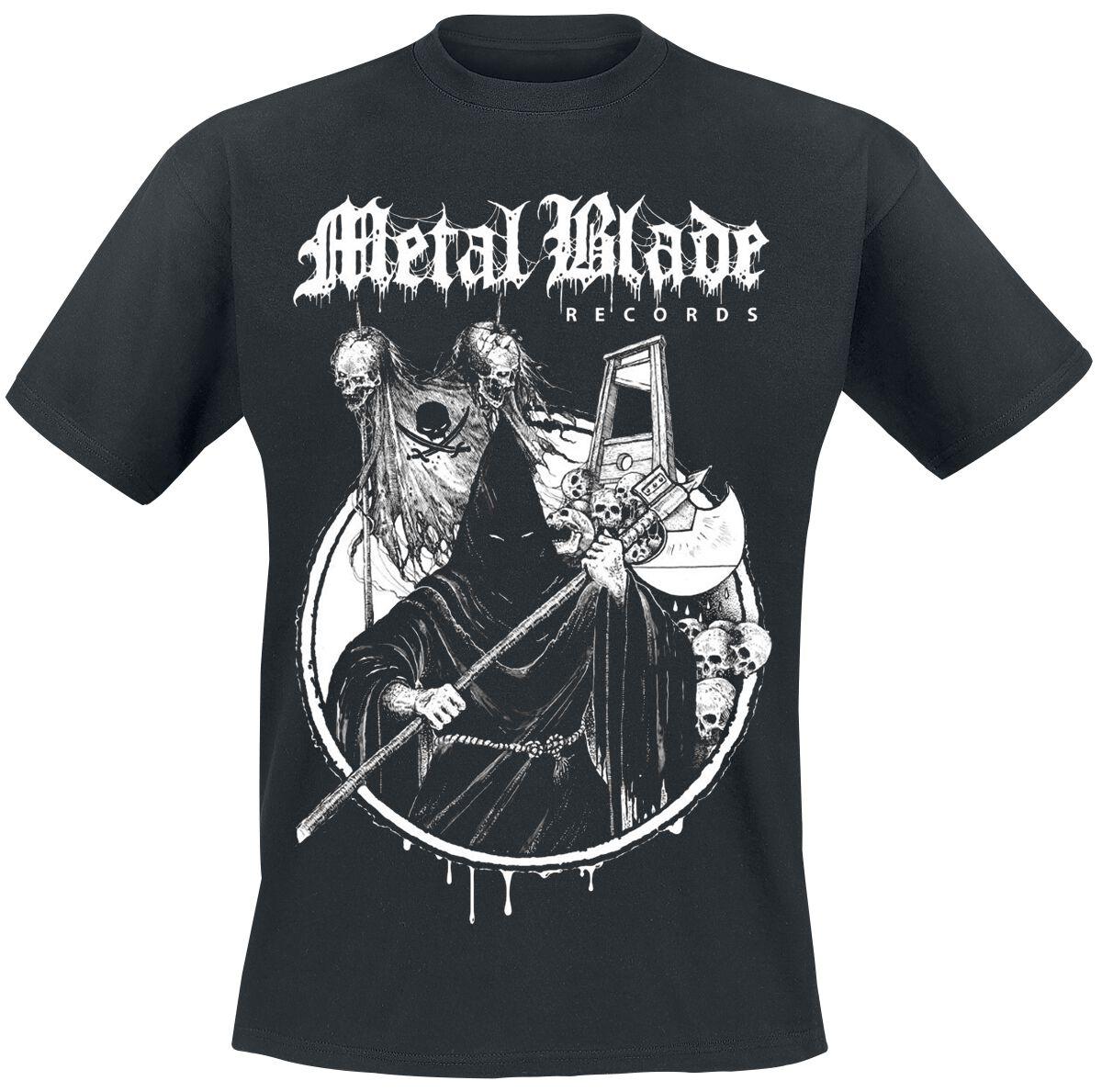 Zespoły - Koszulki - T-Shirt Metal Blade Death Metal T-Shirt czarny - 318766