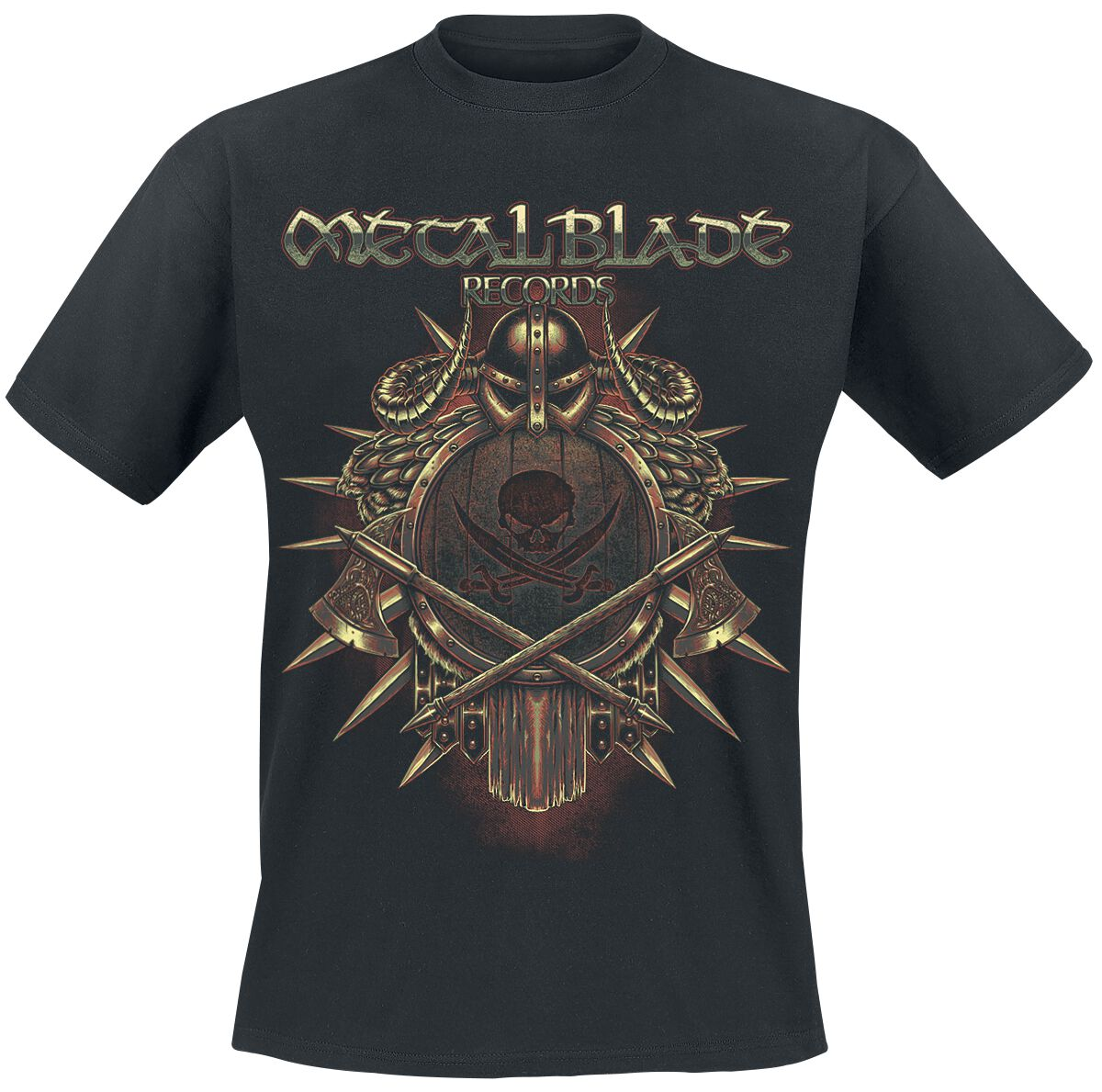 Zespoły - Koszulki - T-Shirt Metal Blade Viking T-Shirt czarny - 318768