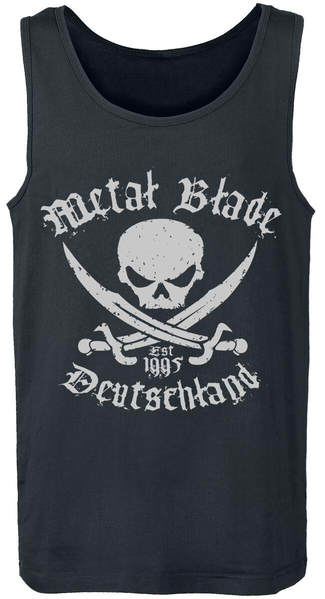 Merch dla Fanów - Topy - Tanktop Metal Blade Pirate Deutschland Tanktop czarny - 318771