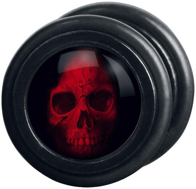 Image of   Wildcat Red Skull Fake plug sæt Standard