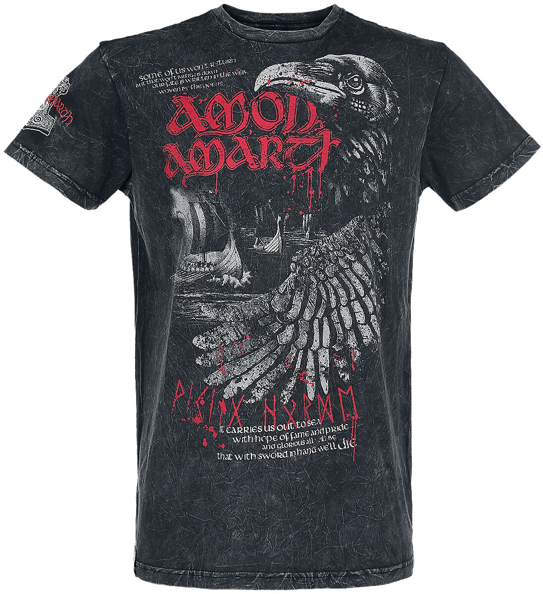 Image of   Amon Amarth EMP Signature Collection T-Shirt sort