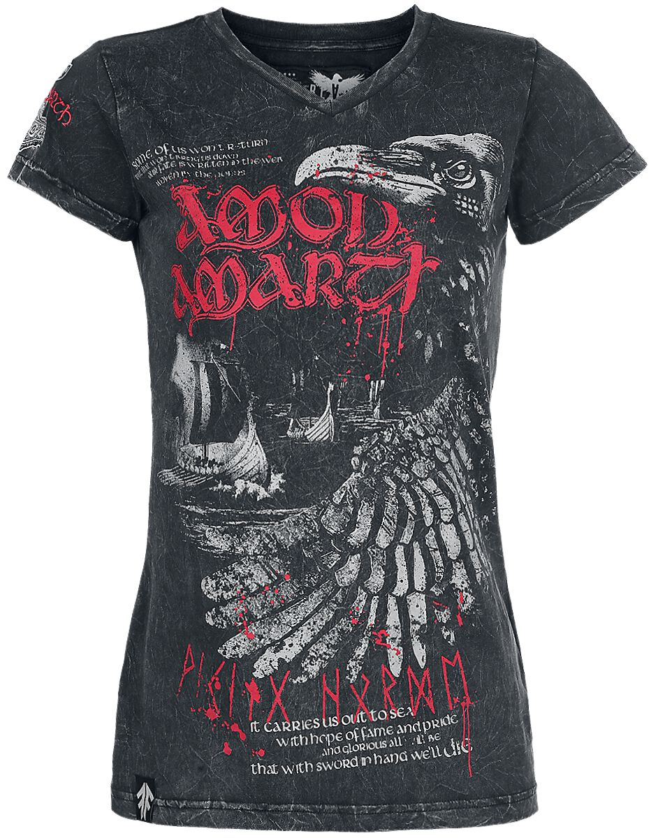 Image of   Amon Amarth EMP Signature Collection Girlie trøje sort