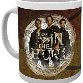 Supernatural Trio Mug blanc