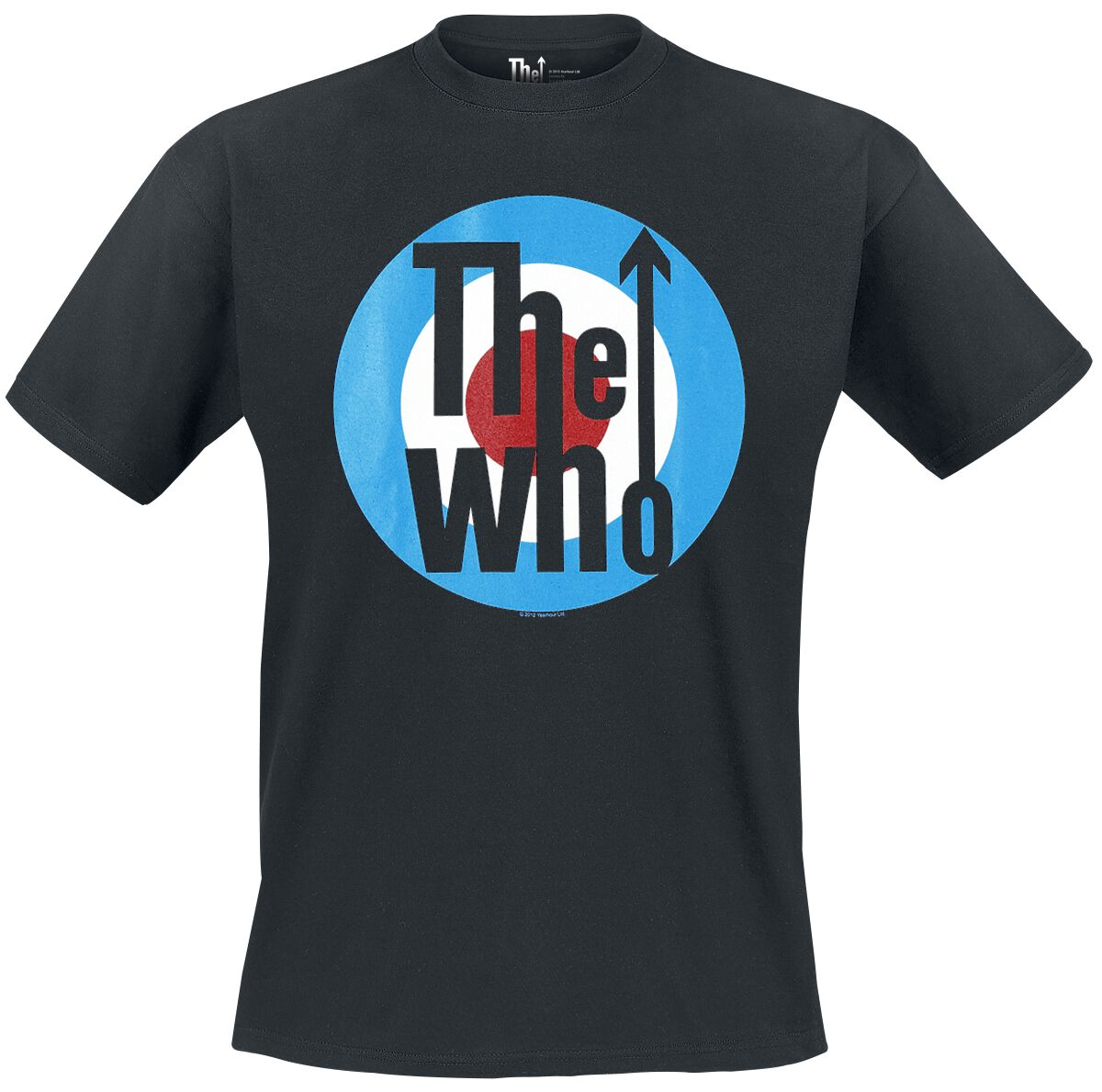 Image of   The Who Classic Logo T-Shirt sort