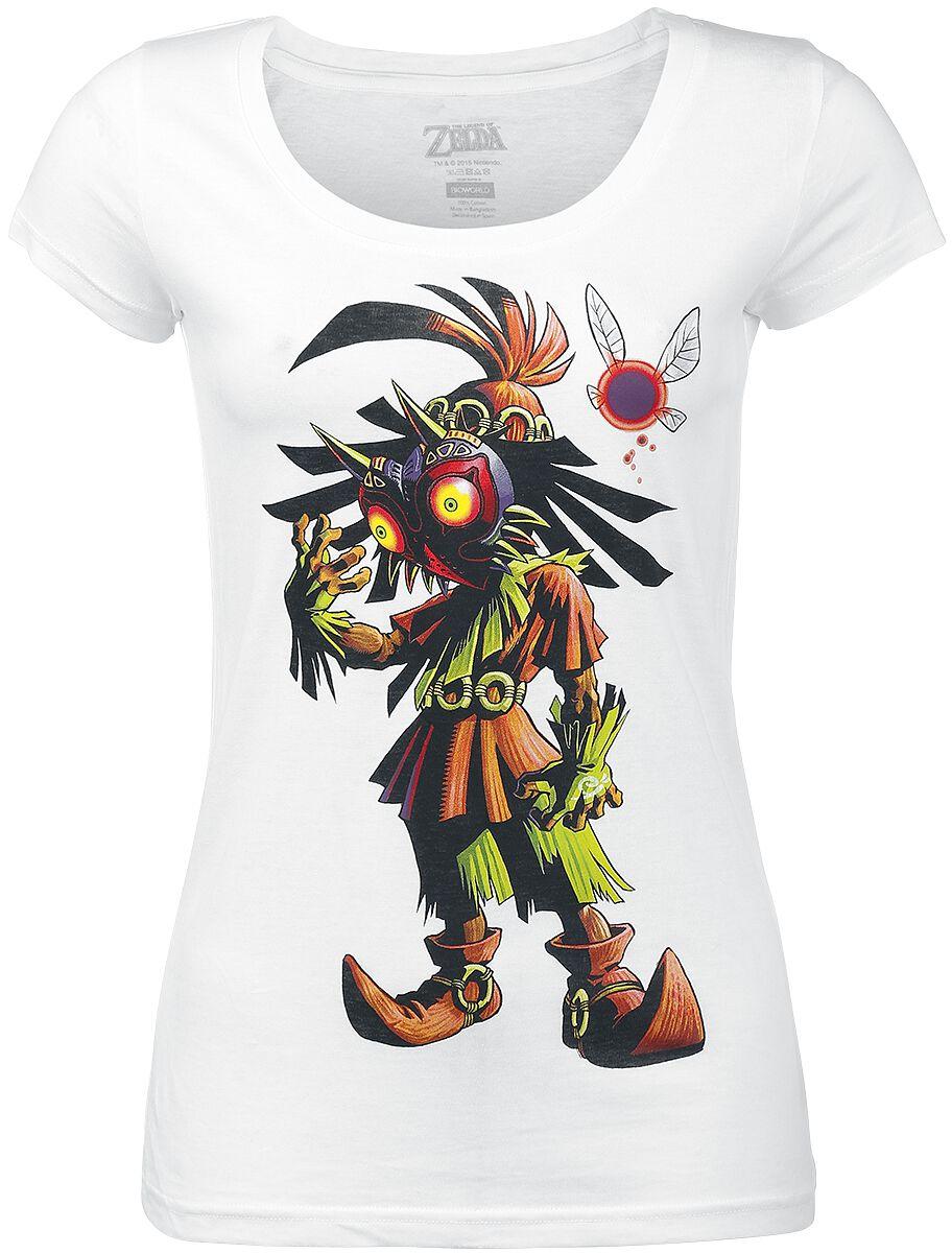 The Legend Of Zelda Majoras Mask T-Shirt weiß TS221212ZEL-XL