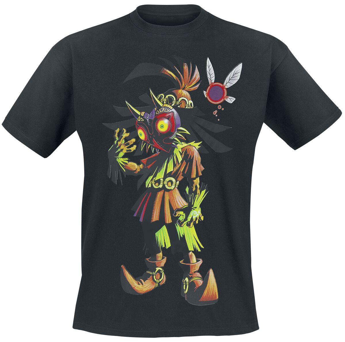 Image of   The Legend Of Zelda Majoras Mask T-Shirt sort